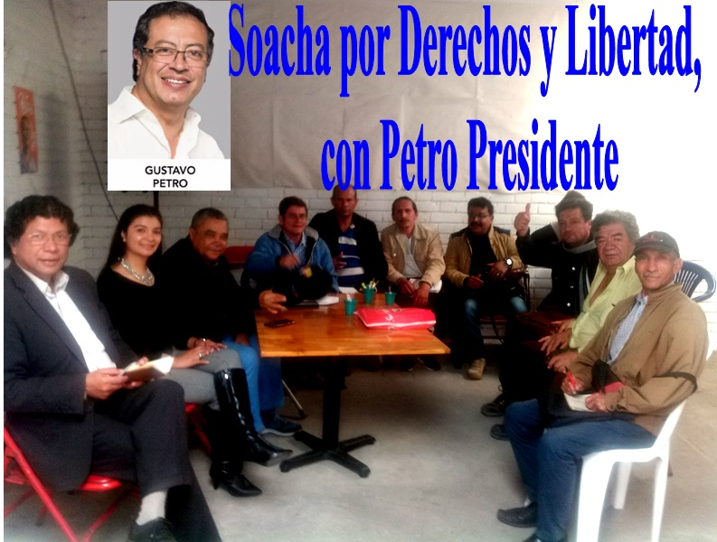 Soacha por Derechos y Libertad, con Petro Presidente