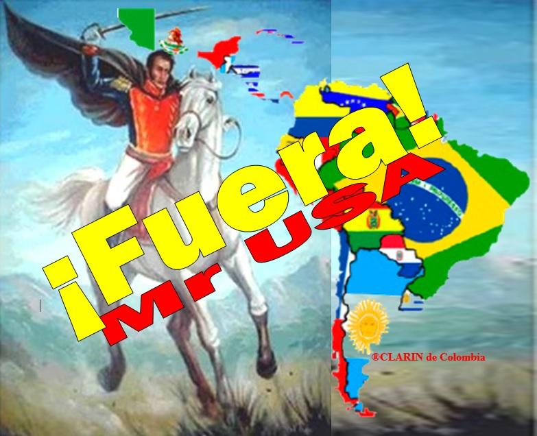 América insurreccionada; por Bolívar nuestro Libertador