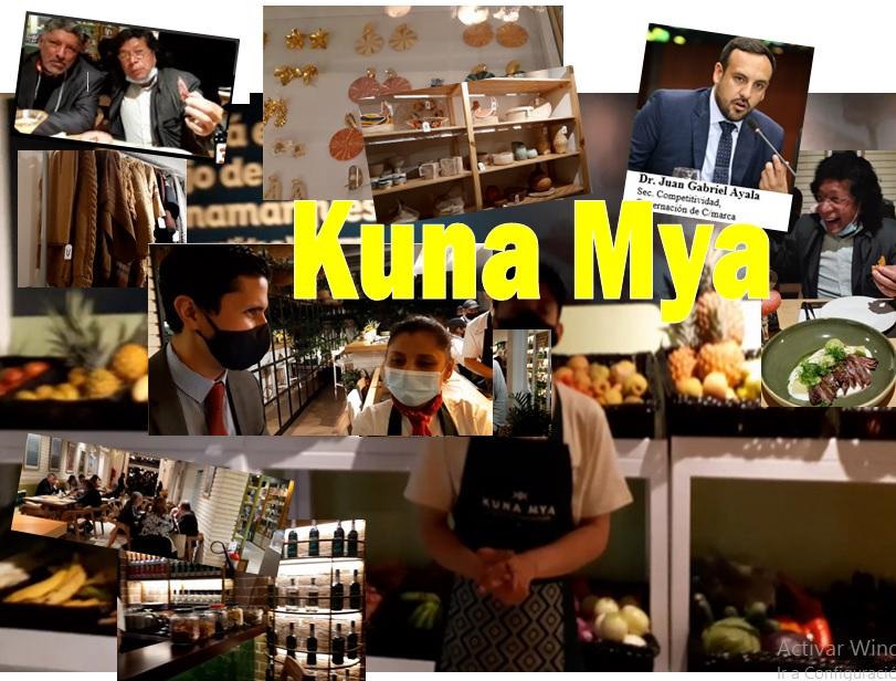 Producto cundinamarqués, con Kuna Mya, más cerca de usted en Btá -CONVOCATORIA-