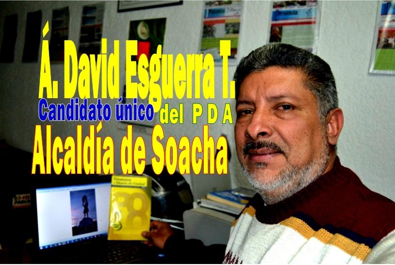 Ángel David Esquerra, Candidato del PDA a la Alcaldía de Soacha