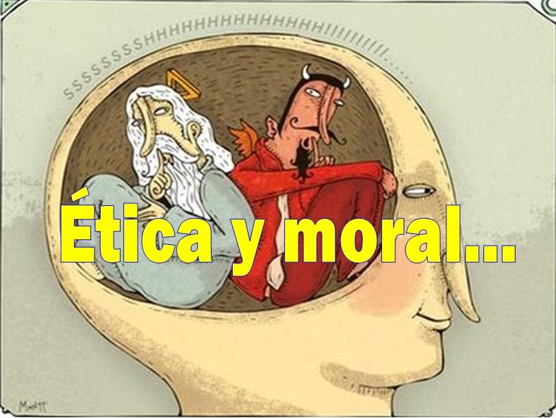 Cuando la moral y la ética se volvieron mierda