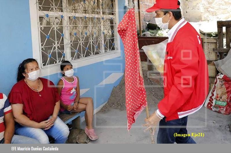 """""""Responde"""" Alcalde de Soacha a CLARIN de Colombia, respecto a mercados?"""